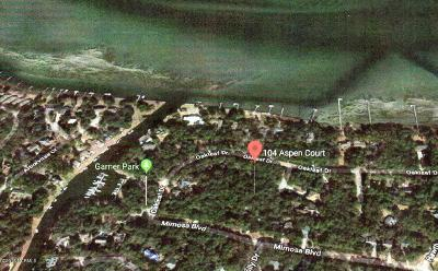 Pine Knoll Shores Residential Lots & Land For Sale: 104 Aspen Court