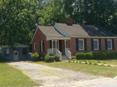 Greenville Single Family Home For Sale: 204 Pine Street
