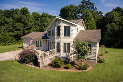 Beaufort NC Single Family Home For Sale: $299,900