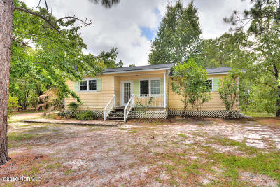 Southport Single Family Home For Sale: 1024 Morehead Road