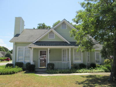 Wilmington NC Single Family Home For Sale: $129,000