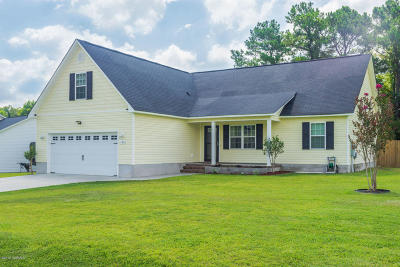 Jacksonville Single Family Home For Sale: 126 Woodbury Farm Drive