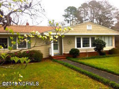 Wilmington NC Single Family Home For Sale: $175,000