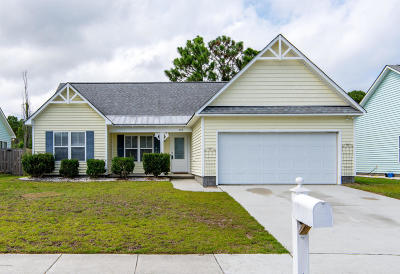 Wilmington NC Single Family Home For Sale: $202,500