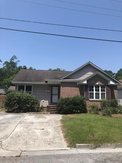 Wilmington NC Single Family Home For Sale: $155,000