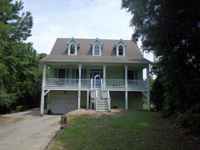 Emerald Isle NC Single Family Home For Sale: $410,000