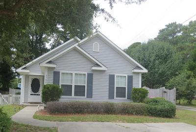 Wilmington NC Single Family Home For Sale: $170,000