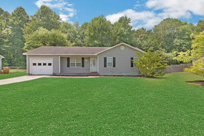 Onslow County Single Family Home For Sale: 246 S Creek Drive