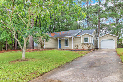 Onslow County Single Family Home For Sale: 203 Balsam Road