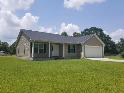 Holly Ridge Single Family Home For Sale: 106 Tar Landing Road