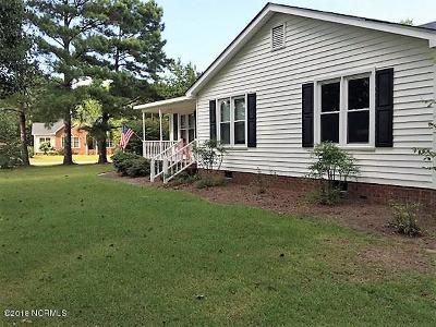 Winterville Single Family Home For Sale: 2109 Canyon Drive