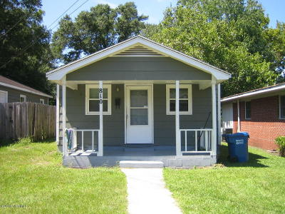 Wilmington Single Family Home For Sale: 810 S 13th Street