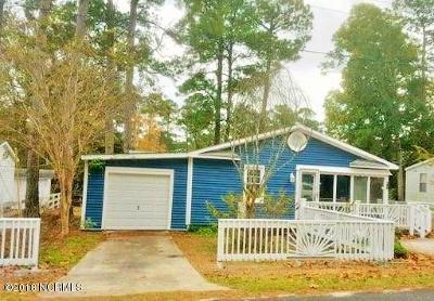 Ocean Isle Beach NC Single Family Home For Sale: $139,900