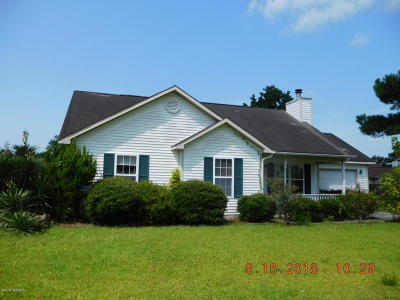 Onslow County Single Family Home For Sale: 331 Palamino Trail