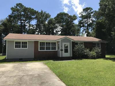 Onslow County Single Family Home For Sale: 41 Dixie Trail