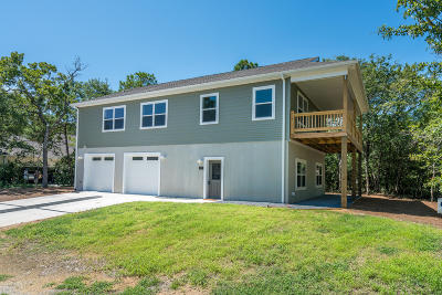 Oak Island Single Family Home For Sale: 1201 W Oak Island Drive