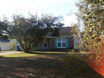 Jacksonville Rental For Rent: 209 Wedgewood Drive