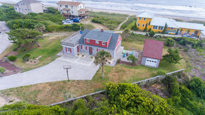Salter Path Single Family Home For Sale: 203 Hoffman Beach Road