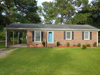 New Bern NC Single Family Home For Sale: $100,000