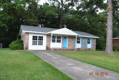 Jacksonville Single Family Home For Sale: 313 Cardinal Road
