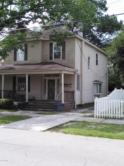 Wilmington Multi Family Home For Sale: 806 Chestnut Street