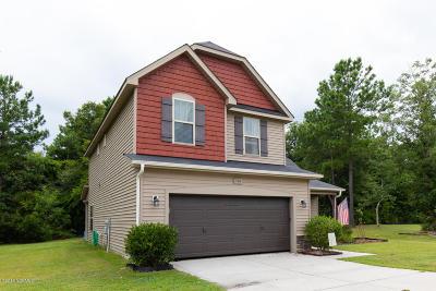 Hubert Single Family Home For Sale: 516 Pepperwood Lane