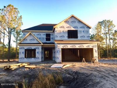 Onslow County Single Family Home For Sale: 514 Saratoga Road #Lot 110