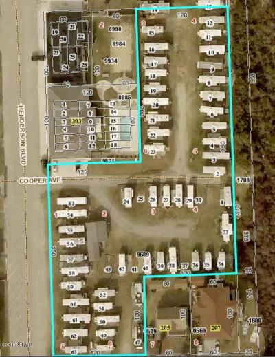 Atlantic Beach Residential Lots & Land For Sale: 401 Henderson Boulevard
