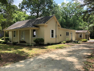 Greenville NC Single Family Home For Sale: $85,000