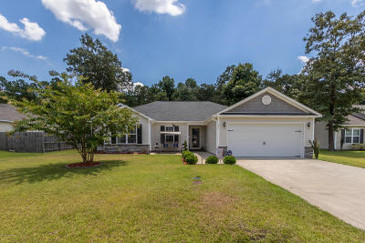 Onslow County Single Family Home For Sale: 117 Braeburn Boulevard