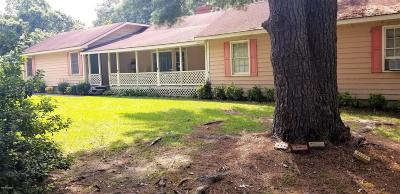 Whiteville NC Single Family Home For Sale: $160,000
