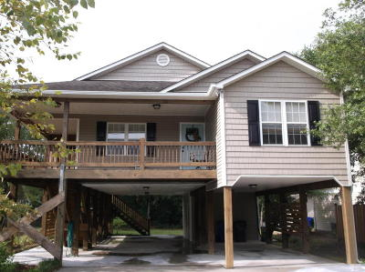 Oak Island Single Family Home For Sale: 305 W Oak Island Drive