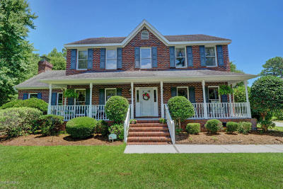 Sneads Ferry Single Family Home For Sale: 128 Captains Lane