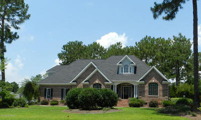 Sunset Beach Single Family Home Pending: 323 Crooked Gulley Circle
