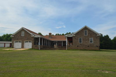 Nash County Single Family Home For Sale: 1673 Mt Zion Church Road