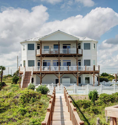 Emerald Isle Single Family Home For Sale: 3005 Ocean Drive