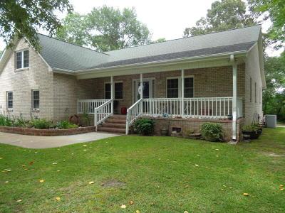 Havelock Single Family Home For Sale: 319 Farina Drive