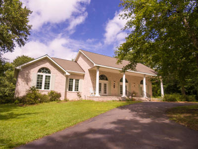 Hampstead Single Family Home For Sale: 1319 Corcus Ferry Road
