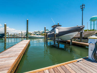 North Topsail Beach, Surf City, Topsail Beach Boat Slip For Sale: 902 S Anderson Boulevard #Slip 42