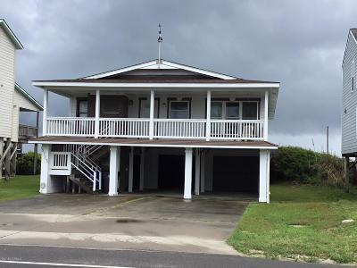 Oak Island Single Family Home For Sale: 5725 W Beach Drive