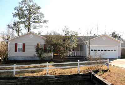 Onslow County Single Family Home For Sale: 104 Littleleaf Court