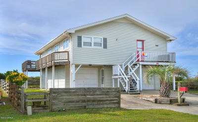 Holden Beach Single Family Home For Sale: 180 Ocean Boulevard E