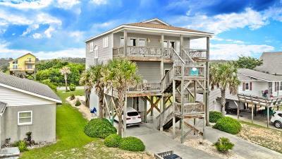 Oak Island Single Family Home For Sale: 710 W Beach Drive