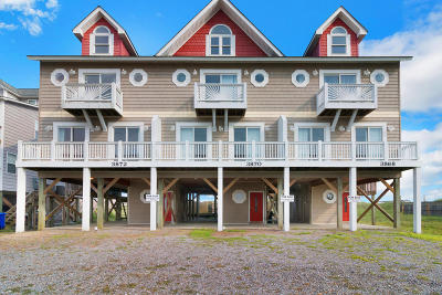 North Topsail Beach, Surf City, Topsail Beach Condo/Townhouse For Sale: 3870 Island Drive