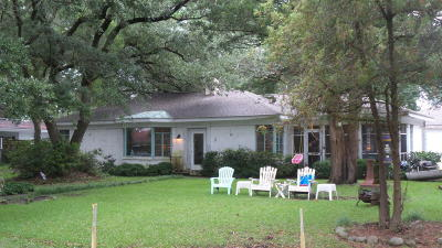 Morehead City Single Family Home For Sale: 4100 Sound Drive