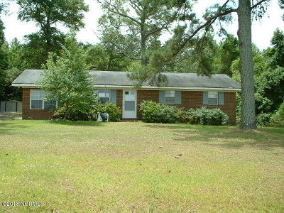 Sneads Ferry Single Family Home For Sale: 170 Hall Point Road