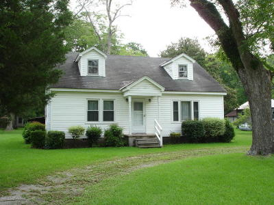 New Bern NC Single Family Home For Sale: $120,000
