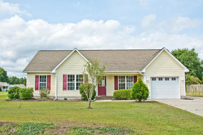 Swansboro Single Family Home For Sale: 316 Appaloosa Court