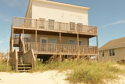 Oak Island Single Family Home For Sale: 203 W Beach Drive