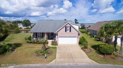 Leland Single Family Home For Sale: 1223 Nightingale Court